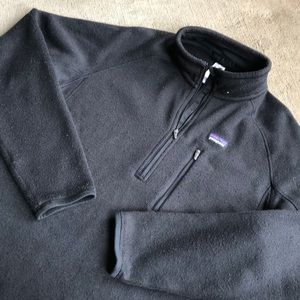 Patagonia Better Sweater Large Black Zip Pullover